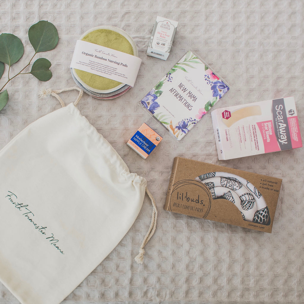 Fourth Trimester Mama postpartum care kit for postpartum recovery from c-section birth