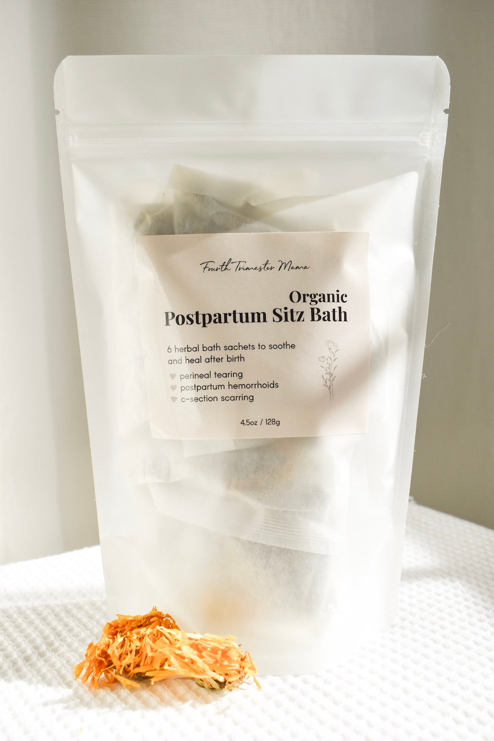 Organic Herbal Postpartum Sitz Bath