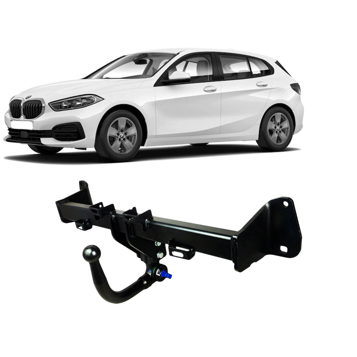 TAG Towbars European Style Tongue to suit BMW 1 (11/2010 - on)