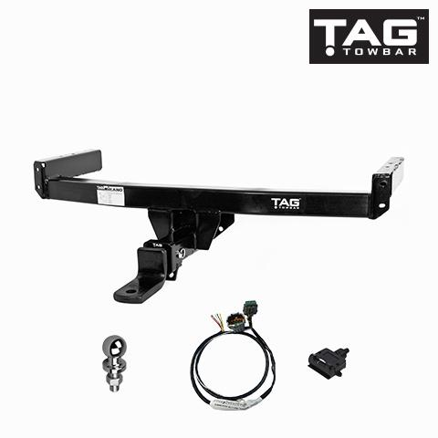 TAG Heavy Duty Towbar to suit Ford Ranger (08/2015 - on) - Direct Fit CAN-Bus Harness suits Vehicles with Green CAN Connector