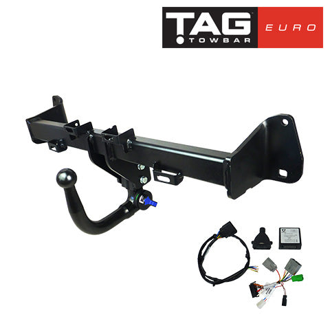 TAG Towbars European Style Tongue to suit Audi A3 (11/2014 - on)