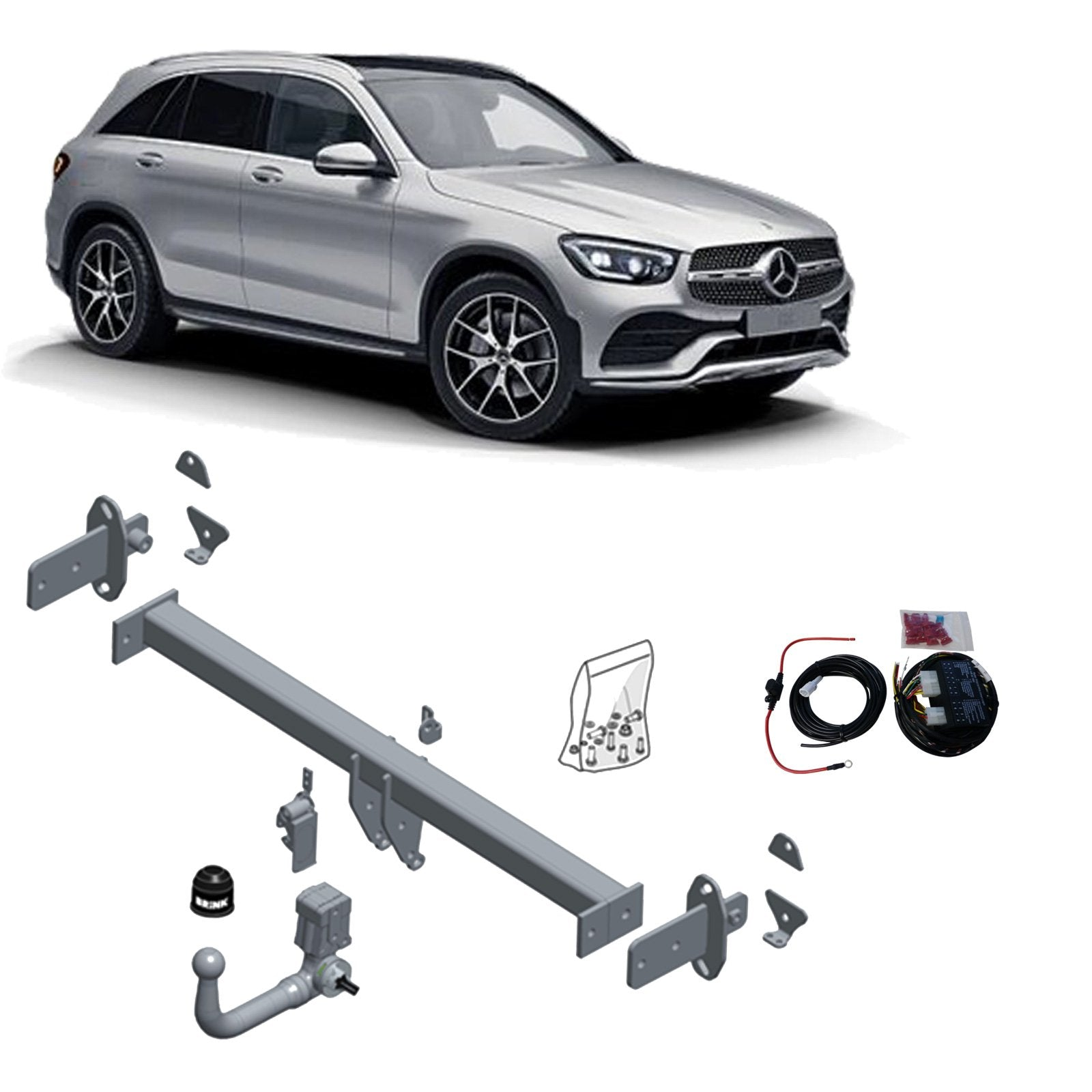 Brink Towbar to suit MERCEDES-BENZ GLC-CLASS (06/2015 - on)