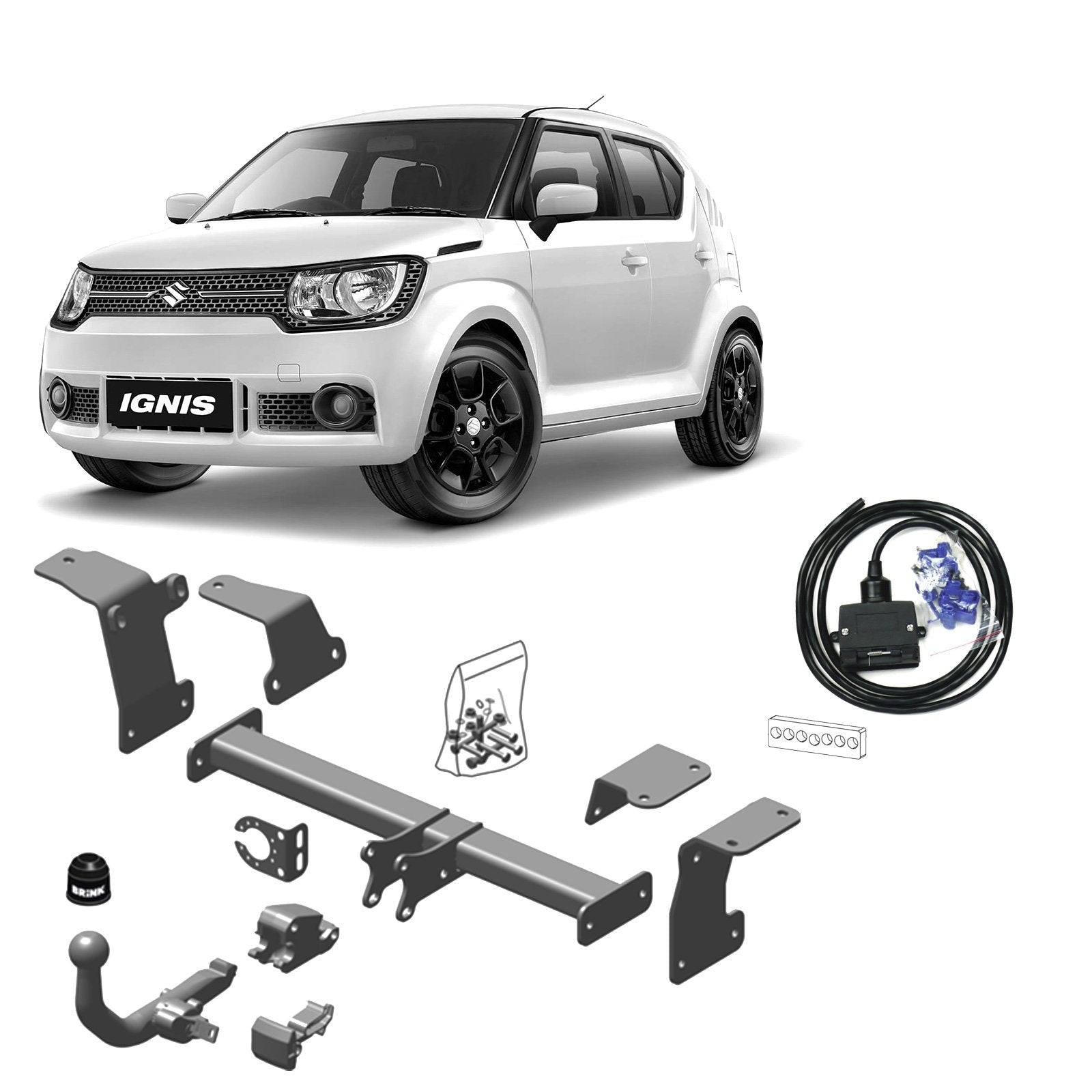 Brink Towbar to suit Suzuki Ignis (10/2016 - on)