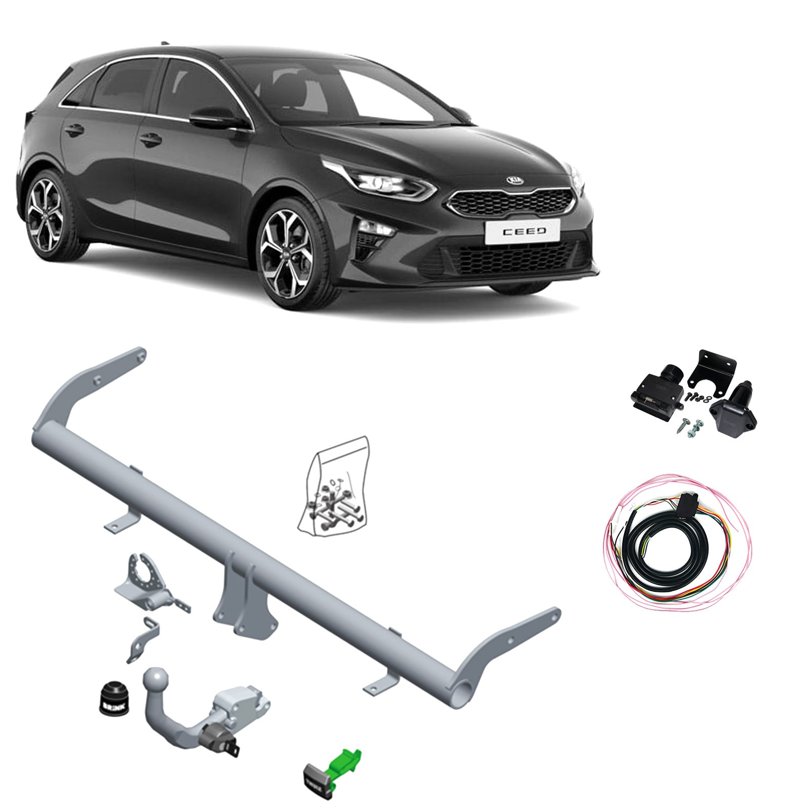 Brink Towbar to suit KIA Ceed (03/2018 - on)