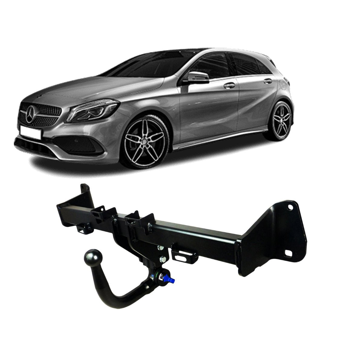 TAG Towbars European Style Tongue to suit MERCEDES-BENZ A-CLASS (07/2018 - on)