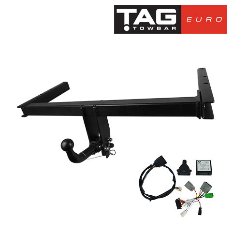 TAG Towbars European Style Tongue to suit BMW 1 (05/2005 - 01/2012), 3 (05/2005 - 01/2012)