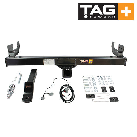 TAG Heavy Duty Towbar to suit Toyota Hilux (03/2005 - 07/2008) - Direct Fit Bypass Harness without Relays