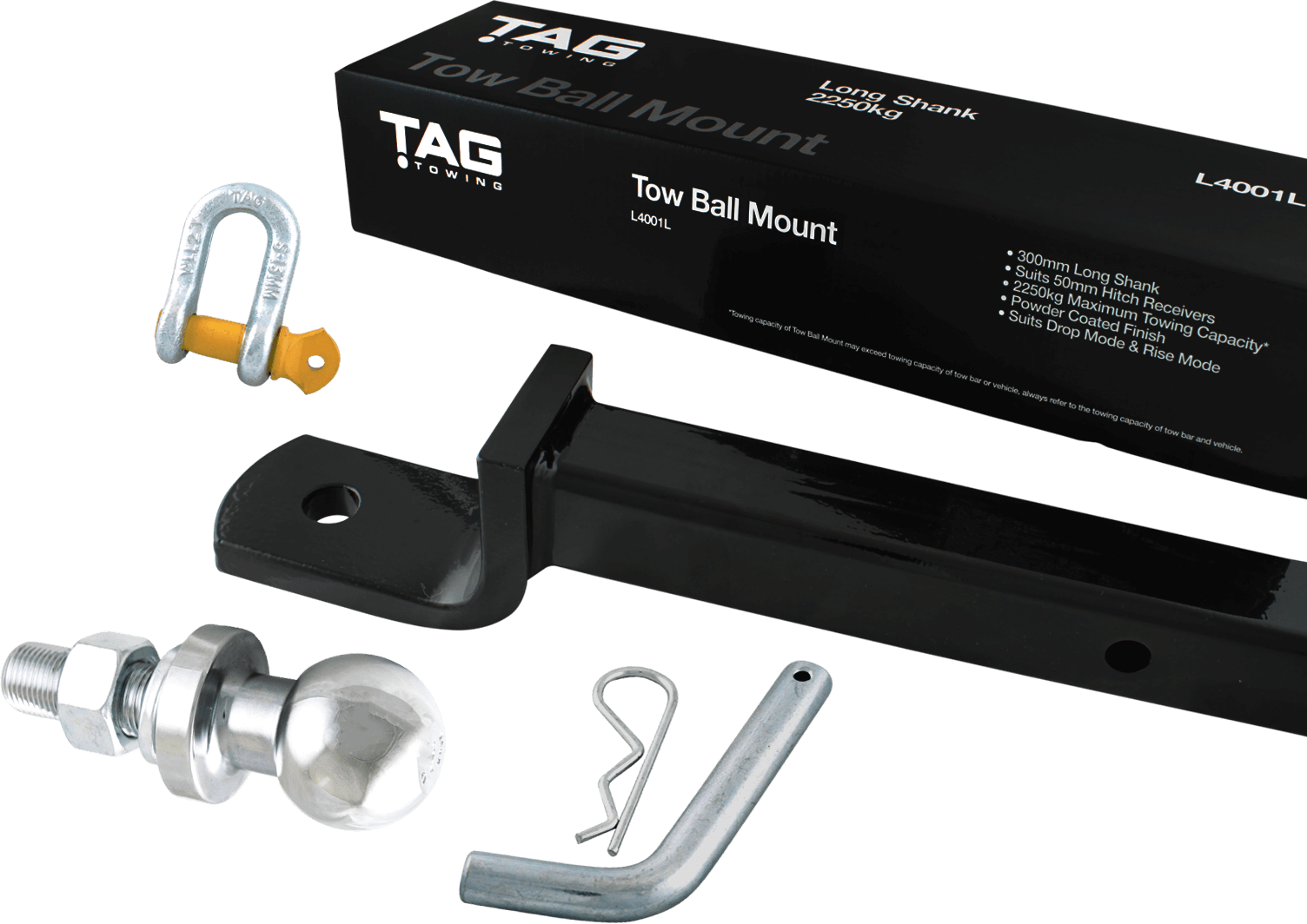 TAG Towbar Towing Accessories
