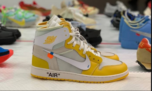 Air Jordan 1 x Off-White Yellow NRG