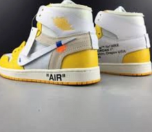 Load image into Gallery viewer, Air Jordan 1 x Off-White Yellow NRG