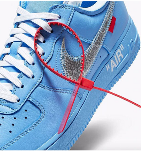 Off-White x Nike Air Force 1 MCA University Blue
