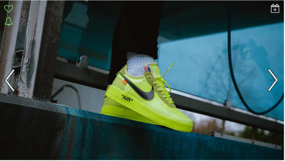 authorized site cheap performance sportswear Nike Air Force 1 X Off-White