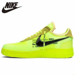 Nike Air Force 1 X Off White Volt Eakpook