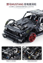Load image into Gallery viewer, Toys Building Blocks Ford Mustang City Racing Car Model