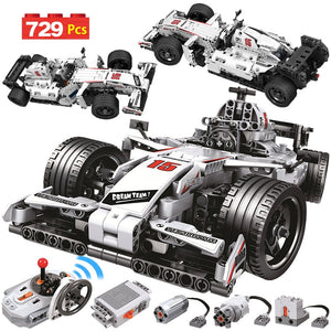 Toys Car Building Blocks Technic RC F1 Racing