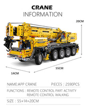 Load image into Gallery viewer, Toys Building Blocks Technic Remote control Truck model