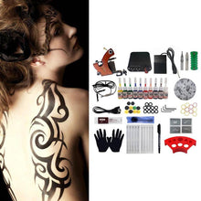 Load image into Gallery viewer, Professional Tattoo Kit Coil Tattoo Machine Set