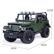 Load image into Gallery viewer, Toys Building Blocks RC Jeeps Wrangler Adventure Off-road