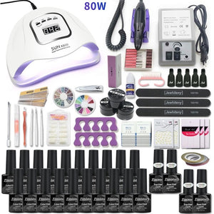 Tools Set Nail Kit