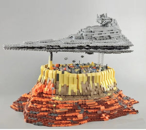 Toys Building Blocks Destroyer Cruise Ship