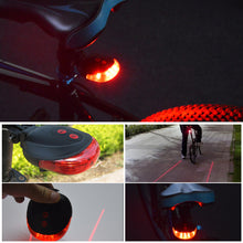 Load image into Gallery viewer, Mountain bike Lamp Bike Laser Tail Light Bicicleta