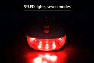 Mountain bike Lamp Bike Laser Tail Light Bicicleta