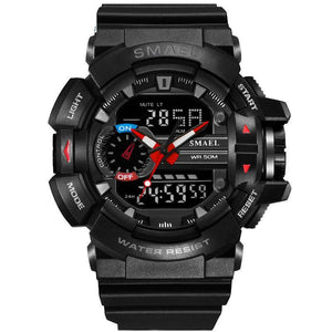 Mens watches Sport LED Digital DATE