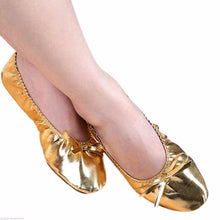 Load image into Gallery viewer, Children Belly Dance Costume Shoes