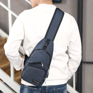 Mens Shoulder Bags USB