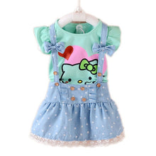 Load image into Gallery viewer, Girls Dress Summer  Baby Clothes