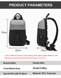 Sling Bag High Quality Waterproof Summer