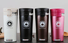Load image into Gallery viewer, Coffee Stainless Steel Mug Thermos