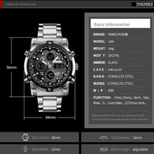 Load image into Gallery viewer, Mens watches Sport Led Full Analog Digital Military