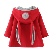 Load image into Gallery viewer, Baby Girls Long Sleeve Coat Jacket