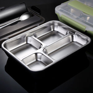 Stainless Steel Lunchbox Office School Kids