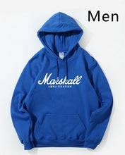 Load image into Gallery viewer, Marshall Amplification Slim Men Hooded Winter Autumn