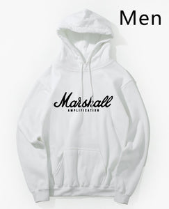 Marshall Amplification Slim Men Hooded Winter Autumn