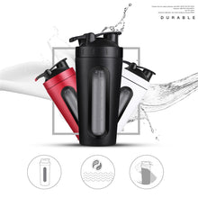 Load image into Gallery viewer, Protein Shaker Bottles Stainless steel Water