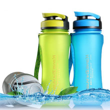 Load image into Gallery viewer, Transparent Sport Portable Water Bottle
