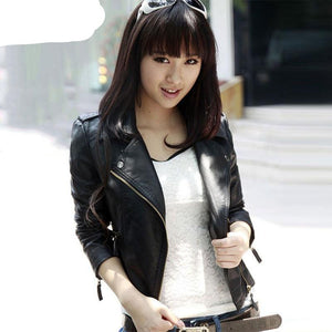 Jacket Women Motorcycle Fashion