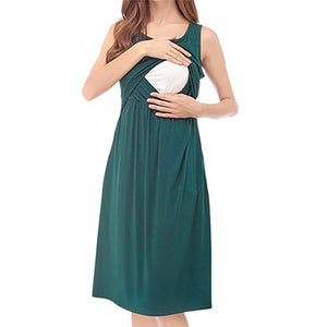 Maternity Clothes Summer Women Breastfeeding
