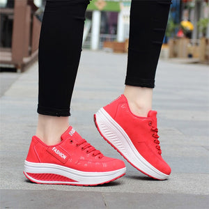 Sneakers Woman Sports Shoes Black