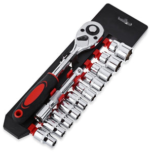 Ratchet Wrench Tool Set for Bicycle Motorcycle Car