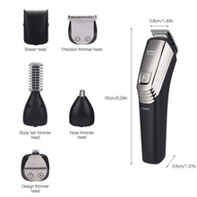 Load image into Gallery viewer, Rechargeable Hair Razor Cordless