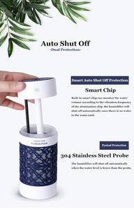 Aromatherapy Diffuser Ultrasonic Air Humidifier Essential Oil