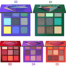 Load image into Gallery viewer, Makeup cosmetics Eye Shadow Shimmer Set