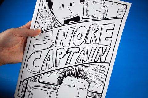 """Snore Captain"" Comic Book (Limited Edition)"