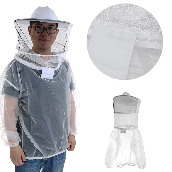 Breathable Bee Anti-Bee Half Body Suit Beekeeping Protective Equipment -Y102