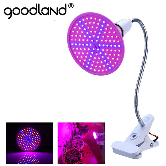 Goodland Phyto Lamp Full Spectrum LED Grow Light E27 Plant Lamp With Clip For Greenhouse Hydroponic Vegetable Flower Fitolampy