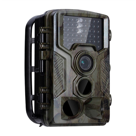 1080P HD Hunting Camera 42 IR LEDs Infrared Night Vision Hunting Scouting Camera IP56 Waterproof Outdoor Camcorder for Wildlife Hunting Monitoring and Farm Security (Camouflage/ Trigger Speed 0.5s)